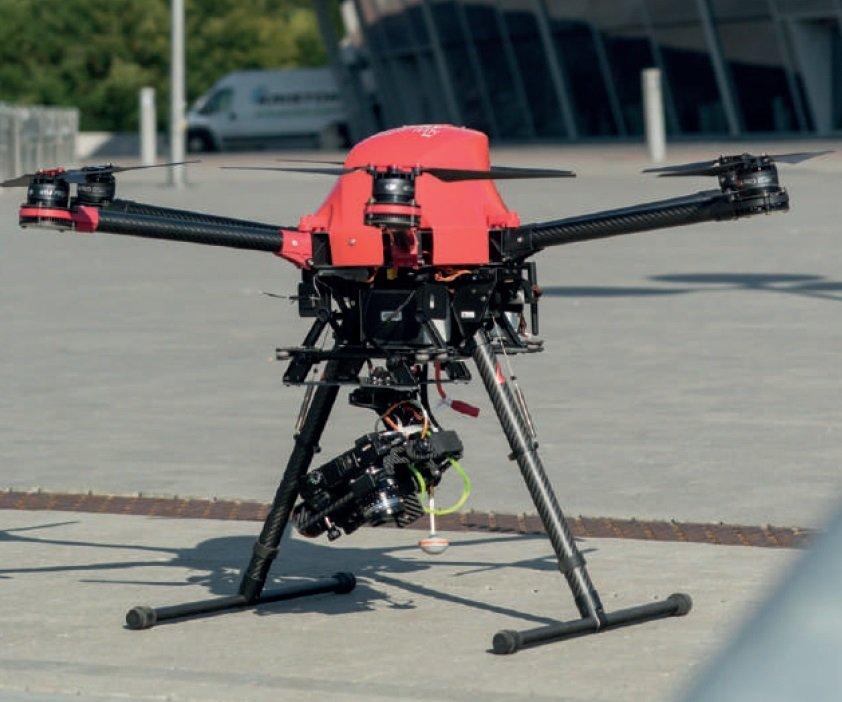 DRON - Profesjonalny system bezzałogowy GRYF