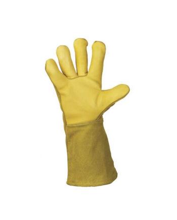 Rękawice spawalnicze całoskórzane VS 53F