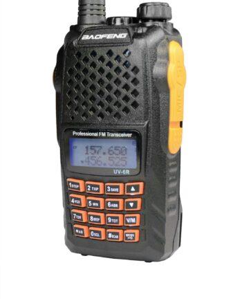 Baofeng UV-6 R Radiotelefon PMR Duobander PTT