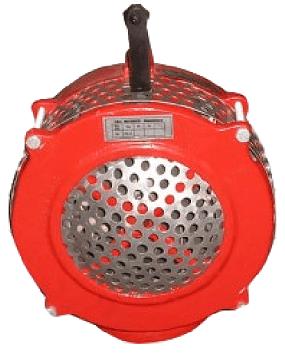 Syrenka strażacka ręczna - Druchna II